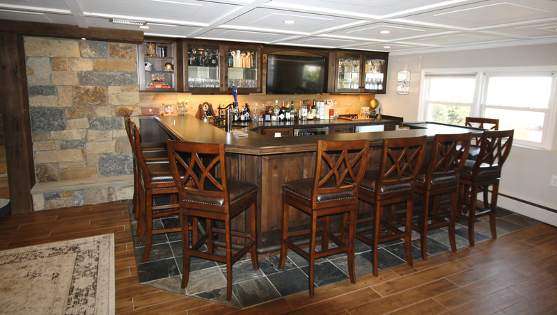 Large Custom Bar serves 10 Montville, NJ