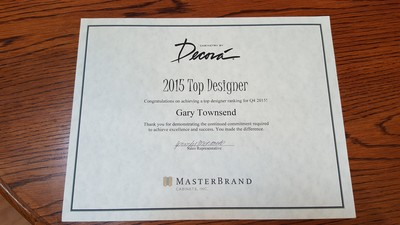 2015 Top Designer Award - Decora by MasterBrands