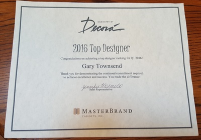 2016 Top Designer Award - Decora by MasterBrands
