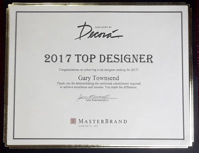 2017 Top Designer Award - All YEAR from Decora Cabinets
